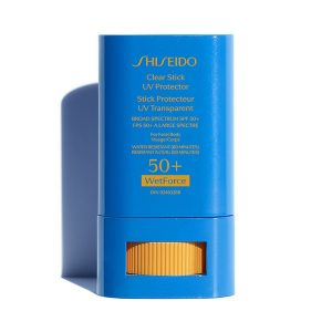 Shiseido Clear Stick UV Protector SPF 50+ WetForce For Face & Body 15 gr.