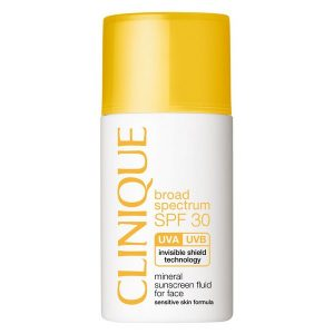 Clinique Broad Spectrum SPF 30 Mineral Sunscreen Fluid For Face 30ml