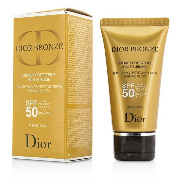 Christian Dior Dior Bronze SPF 50 Face Beautifying Protective Creme Sublime Glow 50ml
